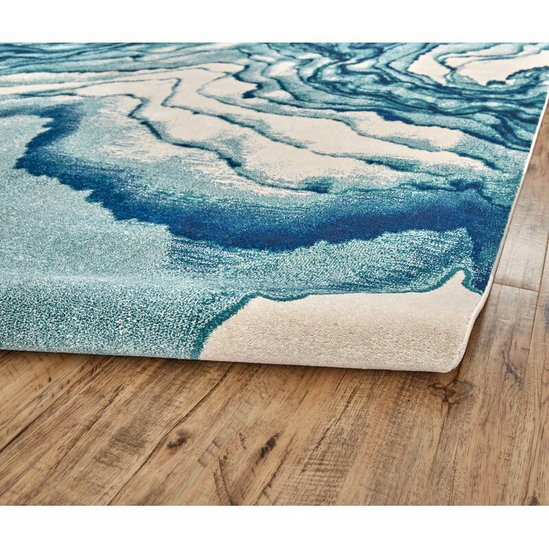 Mickie Abstract Atlantic Area Rug In 2021 Area Rugs Beige Area Rugs Blue Area Rugs