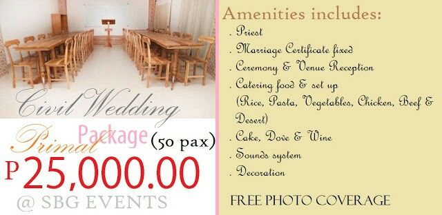Quezon City Promo Civil Wedding Venues Events
