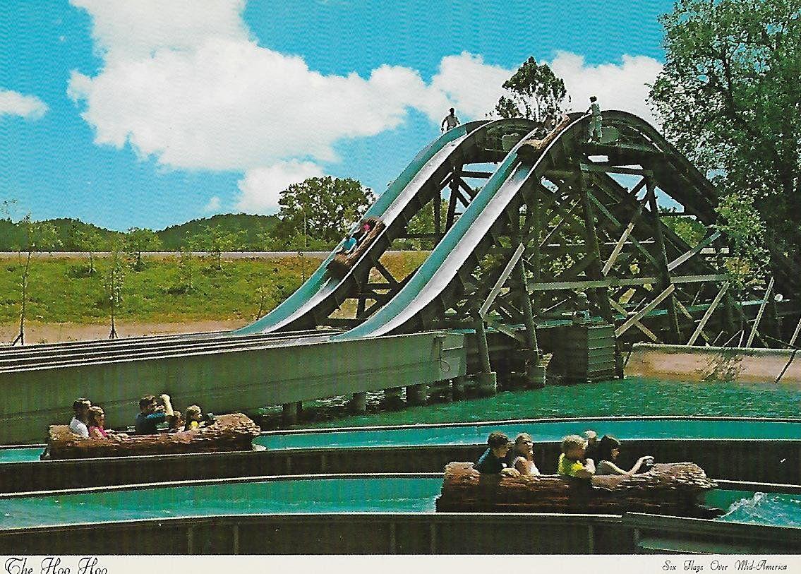 Vintage 1970 S Six Flags Over Mid America The Hoo Hoo Etsy Six Flags Amusement Park Disneyland Photos
