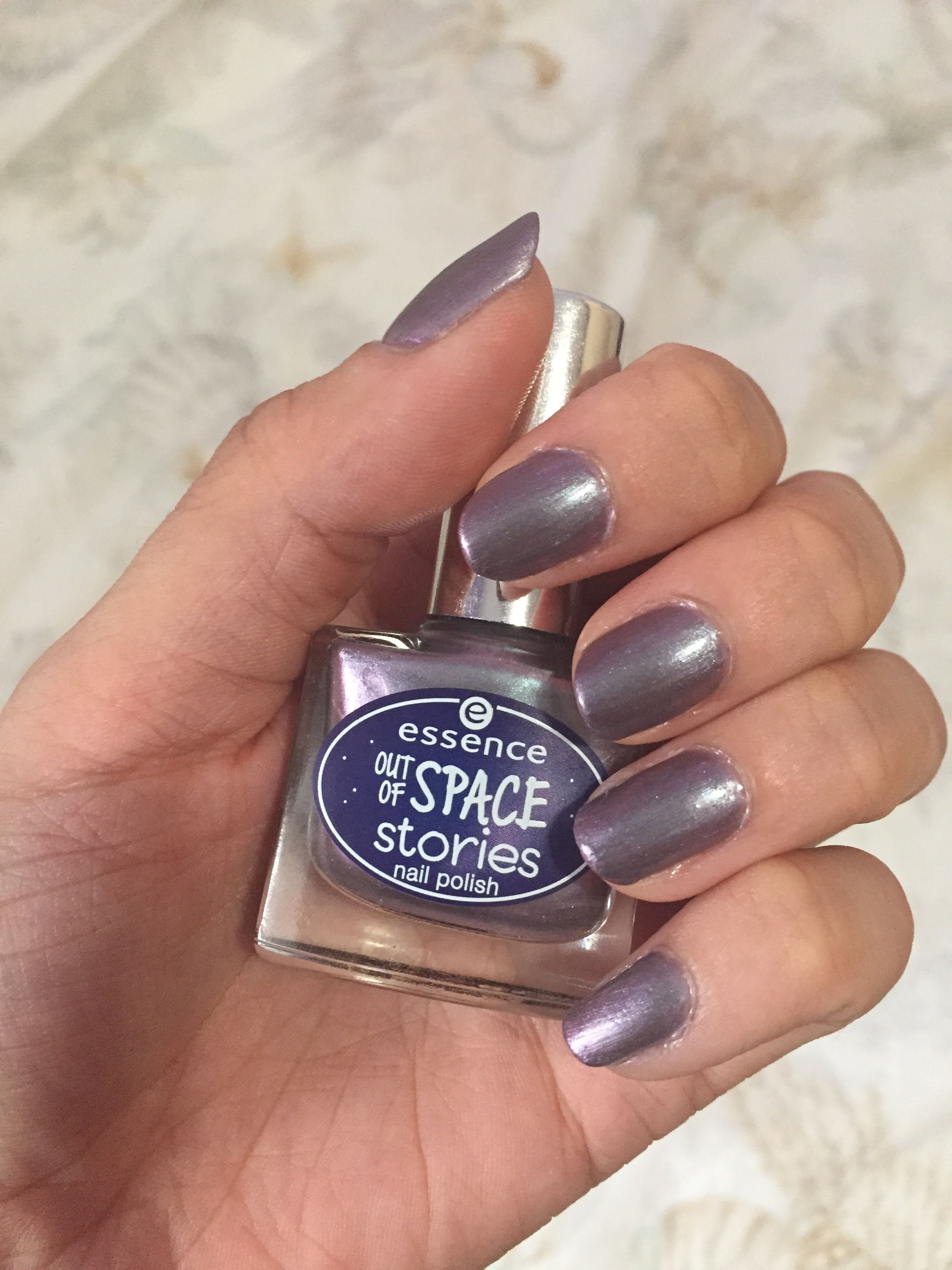 Nails Essence Out of space stories collection  02 across the universe
