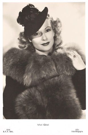 Vivi Gioi 1930s Actress Pinterest