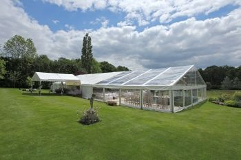 Frame Marquee With Transparent Roof Marquee Hire Glass