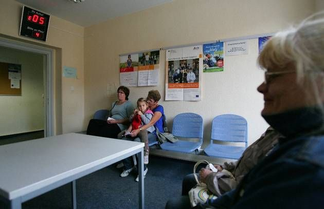 Jobcenter Eberswalde: Wartesaal zum Traumjob