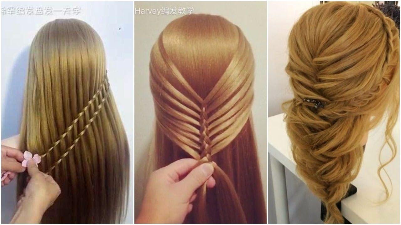 18 Enchanting Newest Hairstyles Hair Tutorial Hair Styles Diy Hairstyles