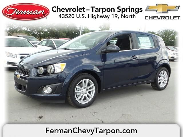 2015 Chevrolet Sonic Hatch Lt Auto Blue Velvet Chevrolet