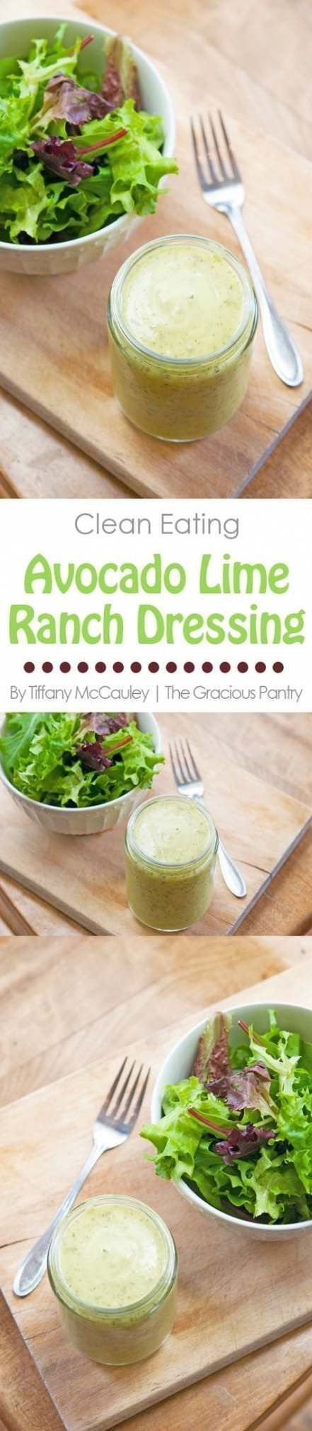 Best dairy free salad dressing recipes avocado ranch 68 Ideas  - Dairy Goats - Best dairy free sal