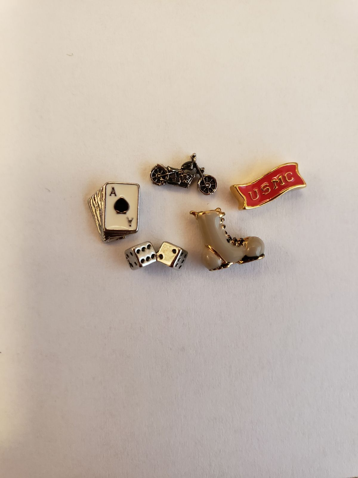 Authentic Origami Owl Dice Charm New