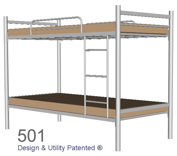 Steel Double Deck | Bed Frames in 2018 | Pinterest | Double deck bed ...