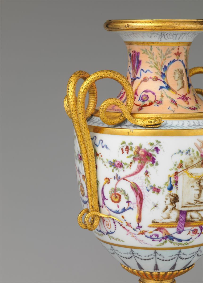 Pair of vases, Sèvres Manufactory (French, 4–present), Hard