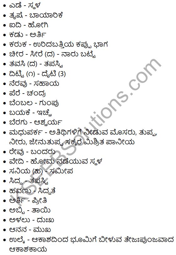 Shabari Summary In Kannada 7 In 2021 Textbook Solutions Chapter