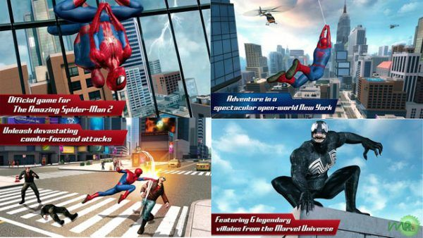 The Amazing Spider Man 2 APK Mod Unlimited Money Download