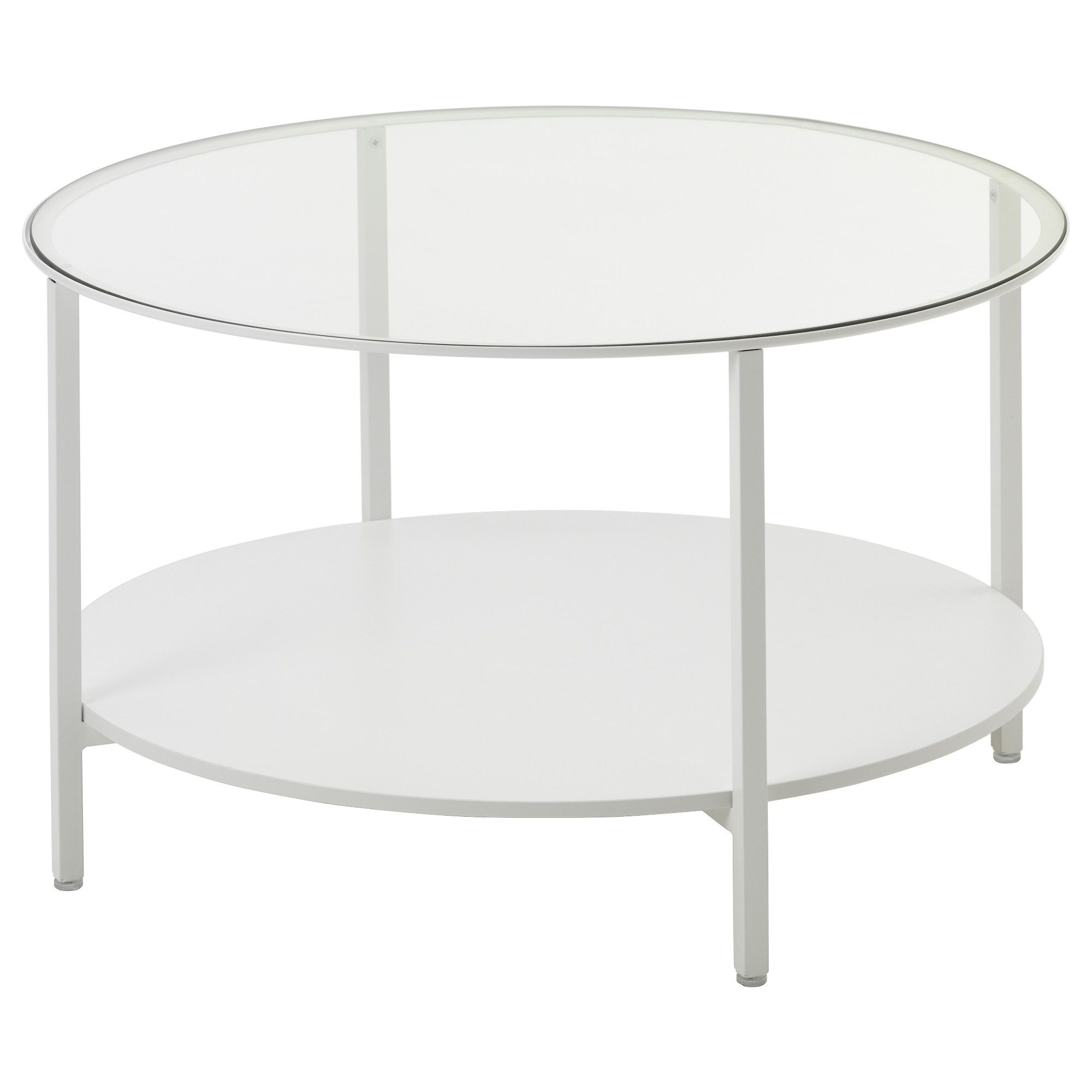 Vittsj Table Basse Blanc Verre Table Basse Blanc Pied  # Ikea Plateau En Verre