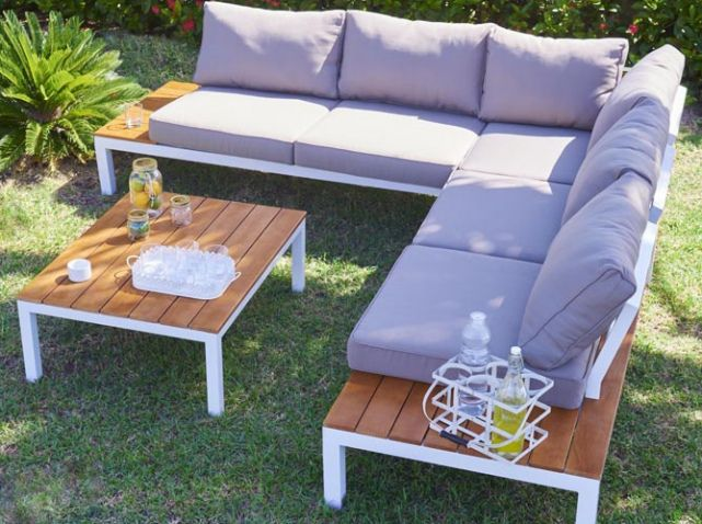Emejing Salon De Jardin En Bois Discount Contemporary - Amazing ...