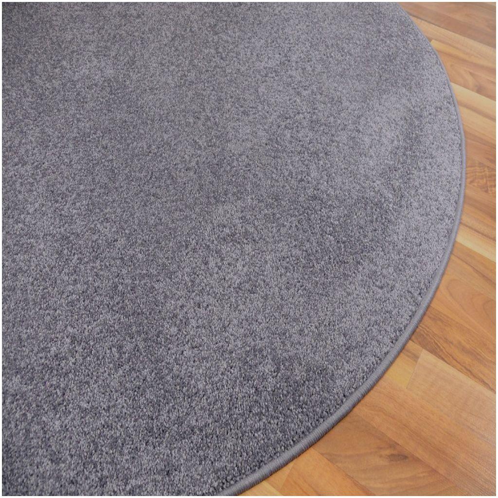 Elegante Teppich Rund Grau Hochflor Teppich Rund Grau Hochflor