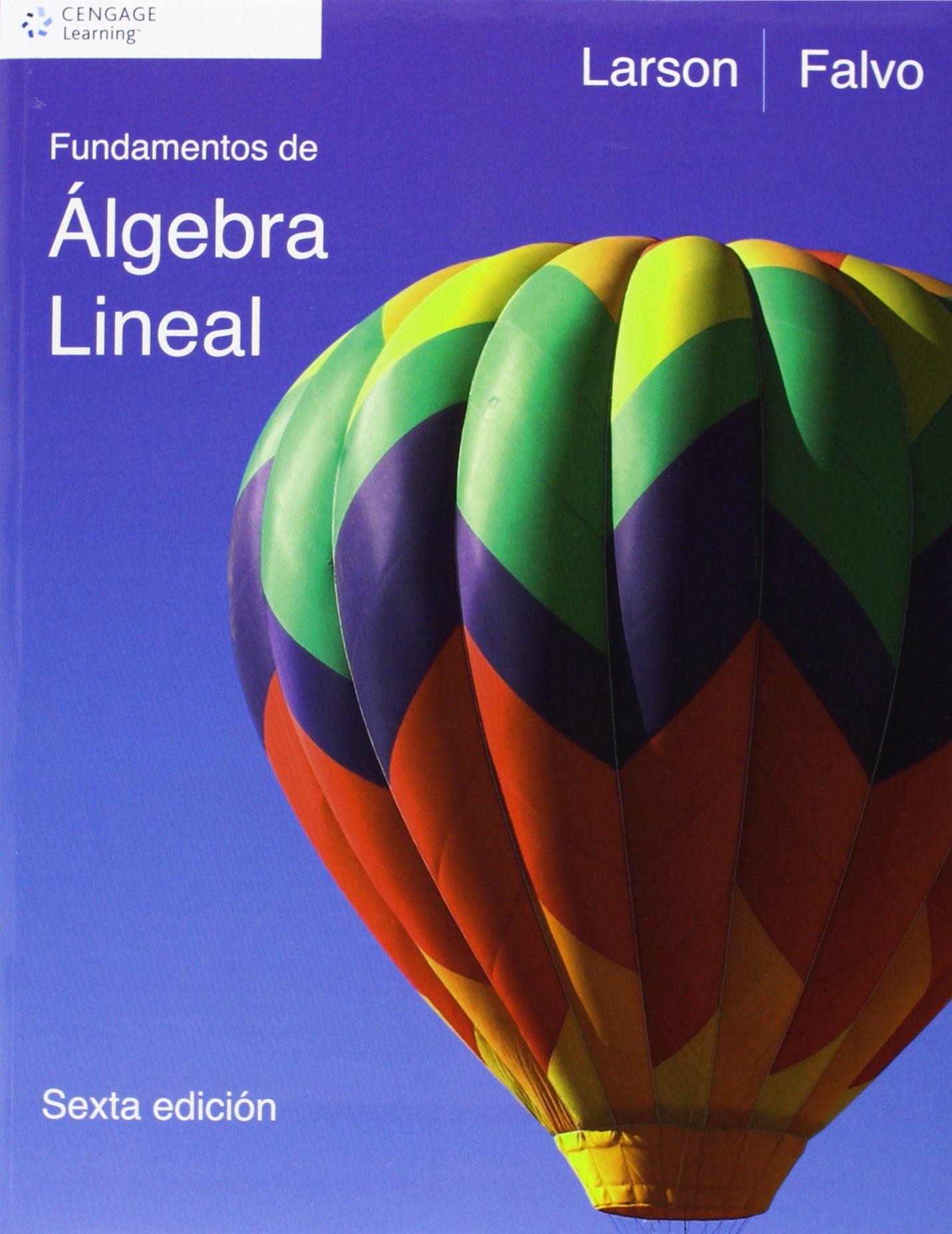 fundamentos de algebra lineal ron larson pdf gratis
