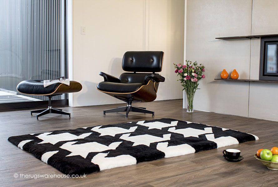 Vertigo Is A Luxurious New Zealand Wool Sheepskin Designer Rug In Geometric Monochrome Design Http
