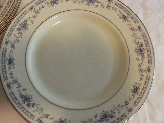 Vintage Discontinued 1980s Minton Bread Plate Bellemeade pattern ...