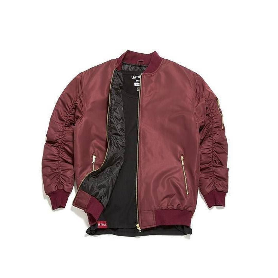 Day One Bomber in Wine   Double Standard Scoop available now. #lafamiliawide @thegame  http://j.mp/Digital_CornerStore