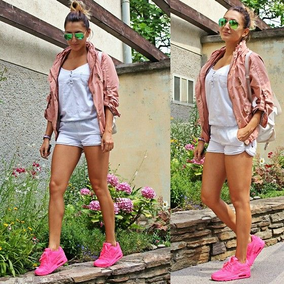 20 Looks fashionistas con tenis Nike Air Max | Air max, Summer and  Collection