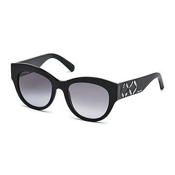 LOVE. Black Sunglasses from #Swarovski