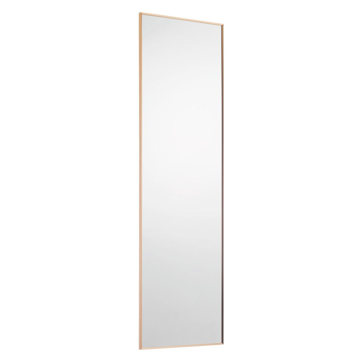 kupari 40 x 140cm copper full length wall mirror