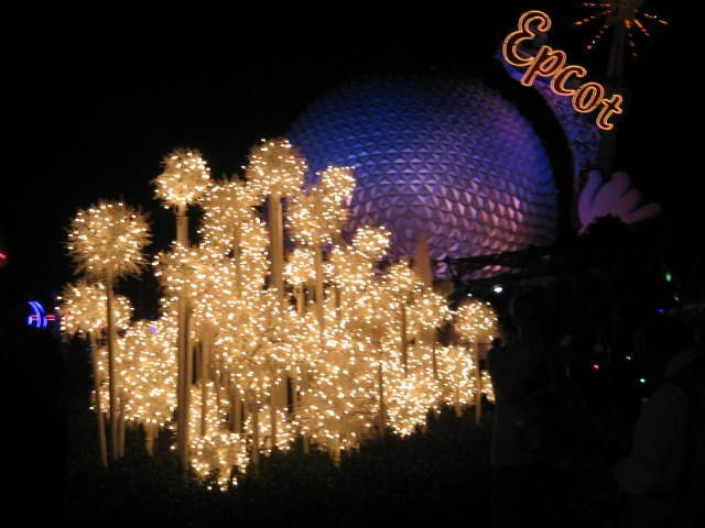 Epcot Christmas. Photo by L. J. Farrell