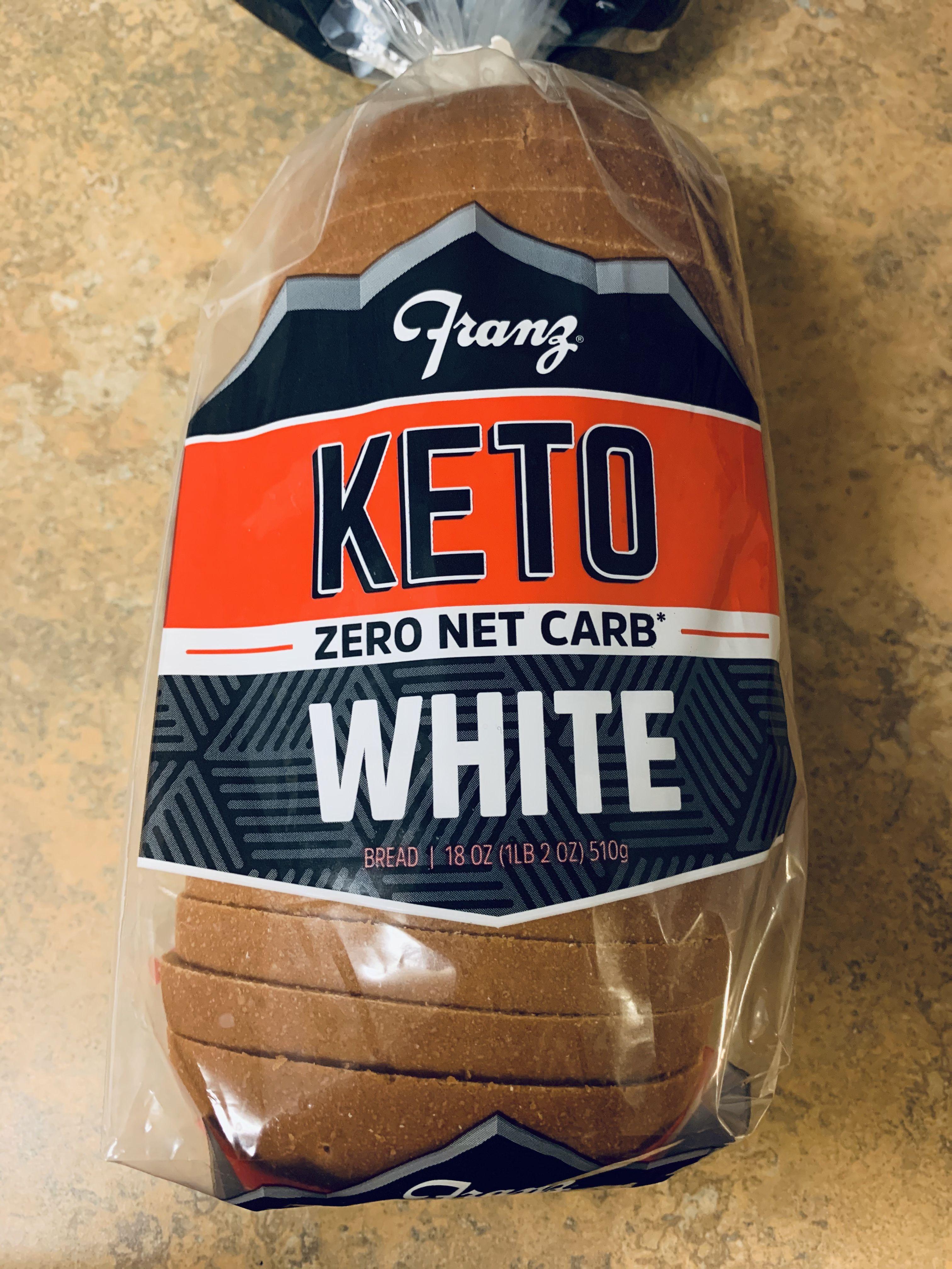 Keto Bread Zero Net Carbs