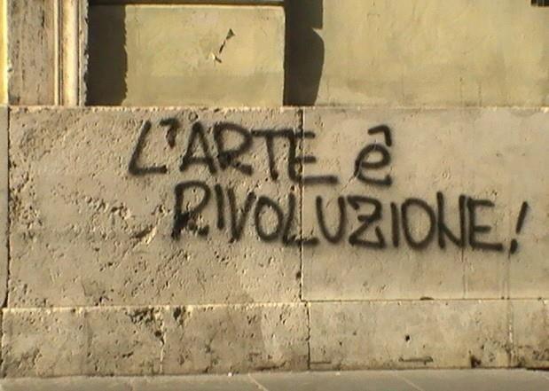 Rivoluzione l ´arte e.