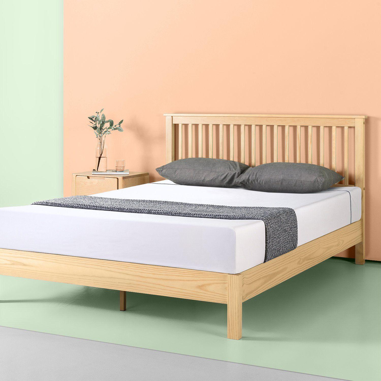 Becky Wood Platform Bed Frame Wood Platform Bed Frame Platform
