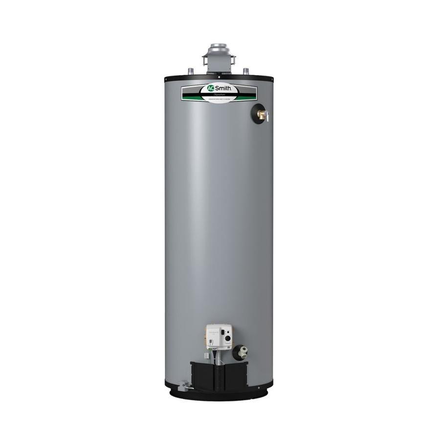 A O Smith Signature Premier 50 Gallon Tall 12 Year Limited Natural Gas Water Heater Natural Gas Water Heater Household