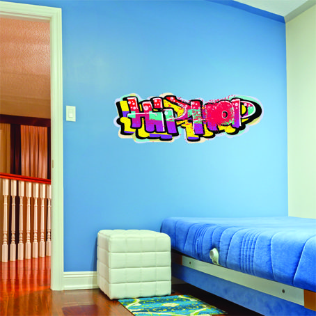 Hip Hop Wall Stickers Wall stickers, Rap wallpaper, Wall