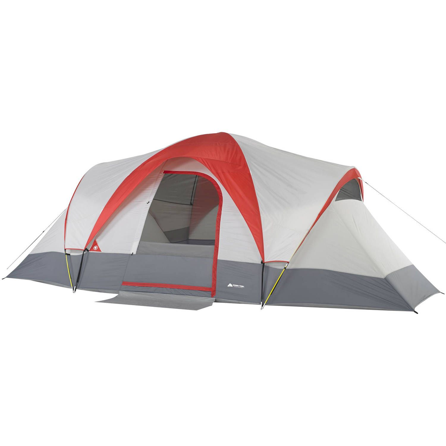 Ozark Trail 9 Person Weatherbuster Dome Tent With Built In Mud Mat Walmart Com Family Tent Camping Best Tents For Camping Dome Tent