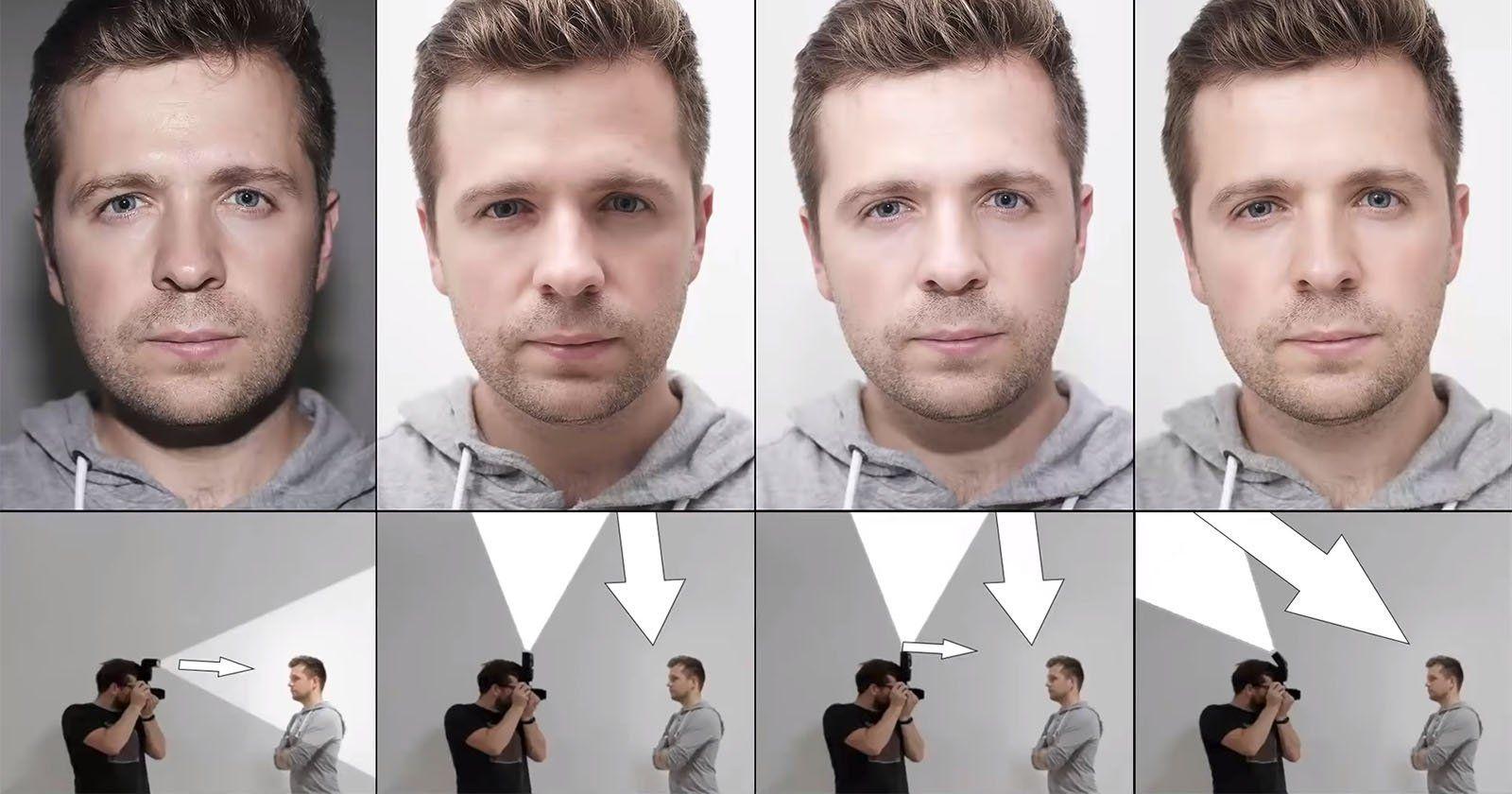 правильное направление света на фото касается даже тех