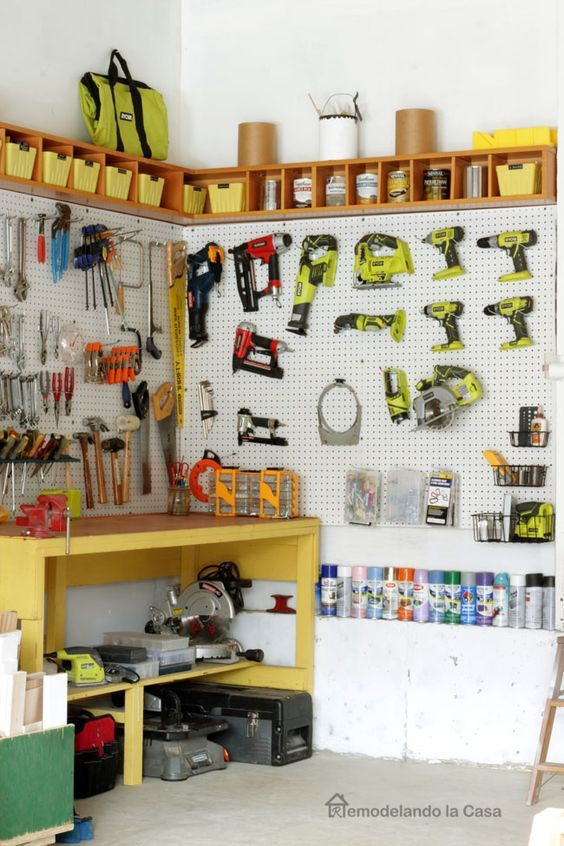 garage organization how to install a pegboard in 2020 on cheap diy garage organization ideas to inspire you tips for clearing id=98349