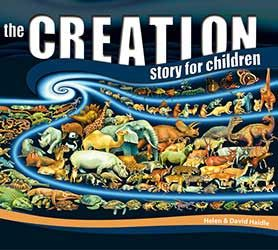 The Creation Story for Children is lovely for preschoolers. With beautiful illustrations, it tells young children about creation, talks about God's amazing creatures, and focuses on the uniqueness of each child. Three lovely parts in one book and scriptures to memorize.