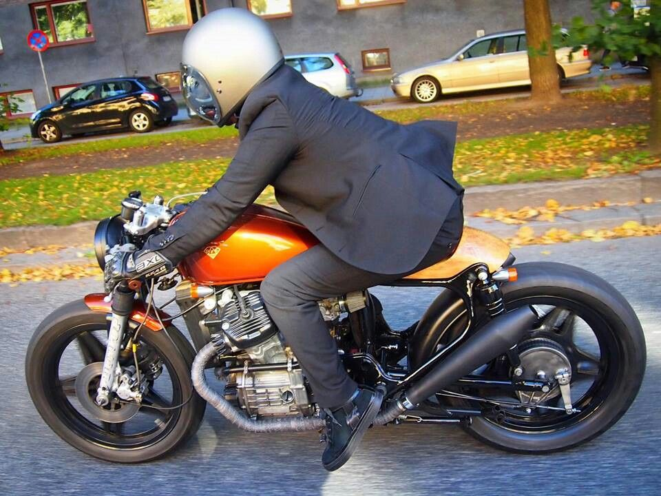 cx500 cafe racer nicely done wood seat tail piece custom motorcycles and vintage inspiration. Black Bedroom Furniture Sets. Home Design Ideas