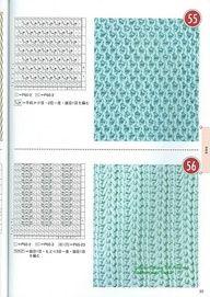 Tunisian Crochet pattern.