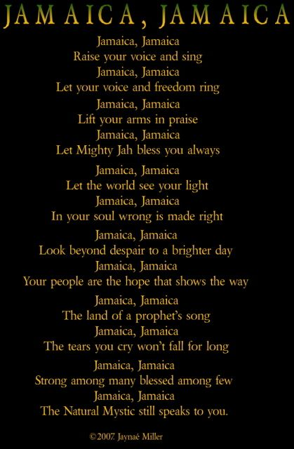 Jamaican Poems 3
