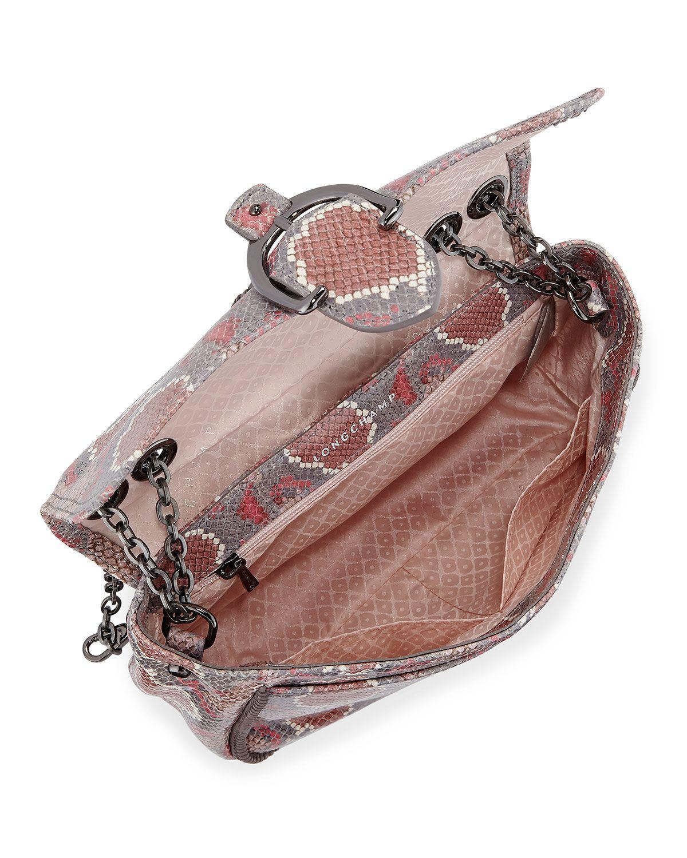 84b03f6d49af Longchamp Amazon Python Mini Crossbody Bag