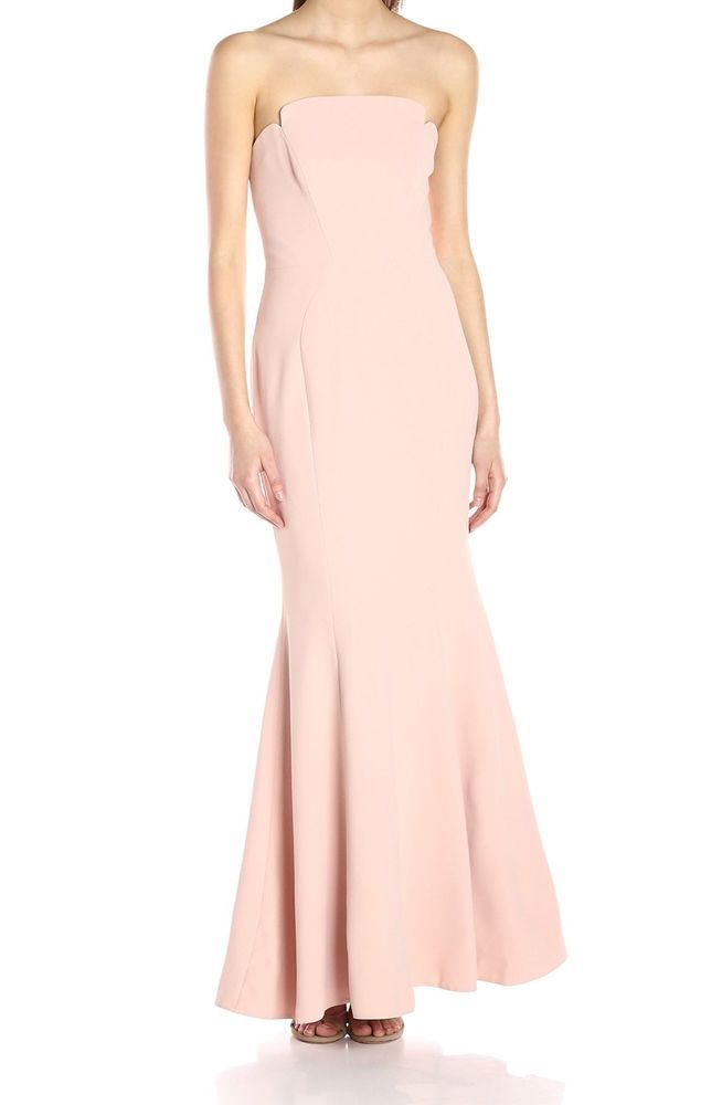 8e49af25c5c Jill Jill Stuart NEW Pink Womens Size 10 Strapless Mermaid Gown Dress  398-   275  fashion  clothing  shoes  accessories  womensclothing  dresses  ad  (ebay ...