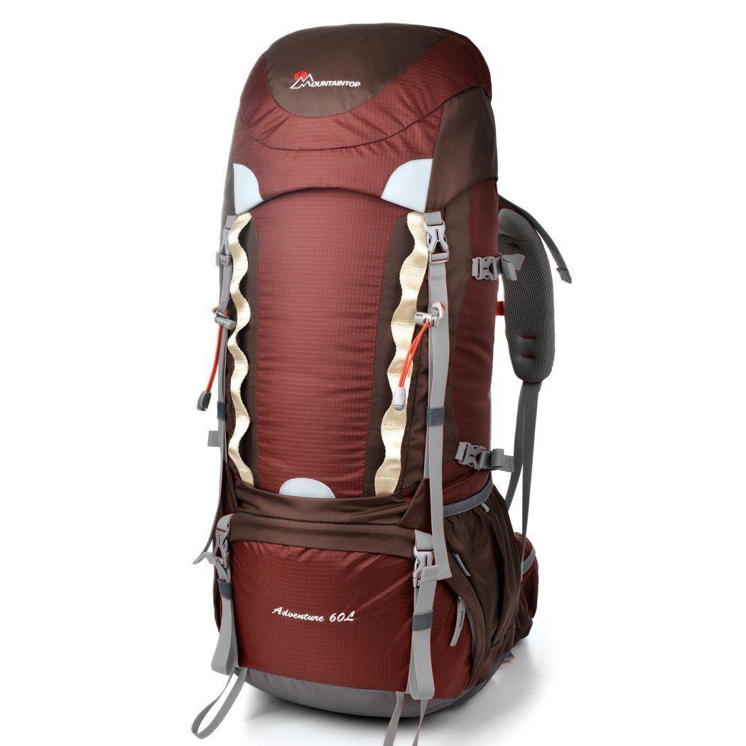 Amazon.com: Mountaintop Outdoor Waterproof Hiking Climbing Backpacks 60l blue: Sports & Outdoors
