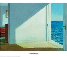 "Edward Hopper - Rooms by the Sea,  1951.  Originally named by Hopper:  ""Rooms by the sea. Alias the Jumping Off Place"""