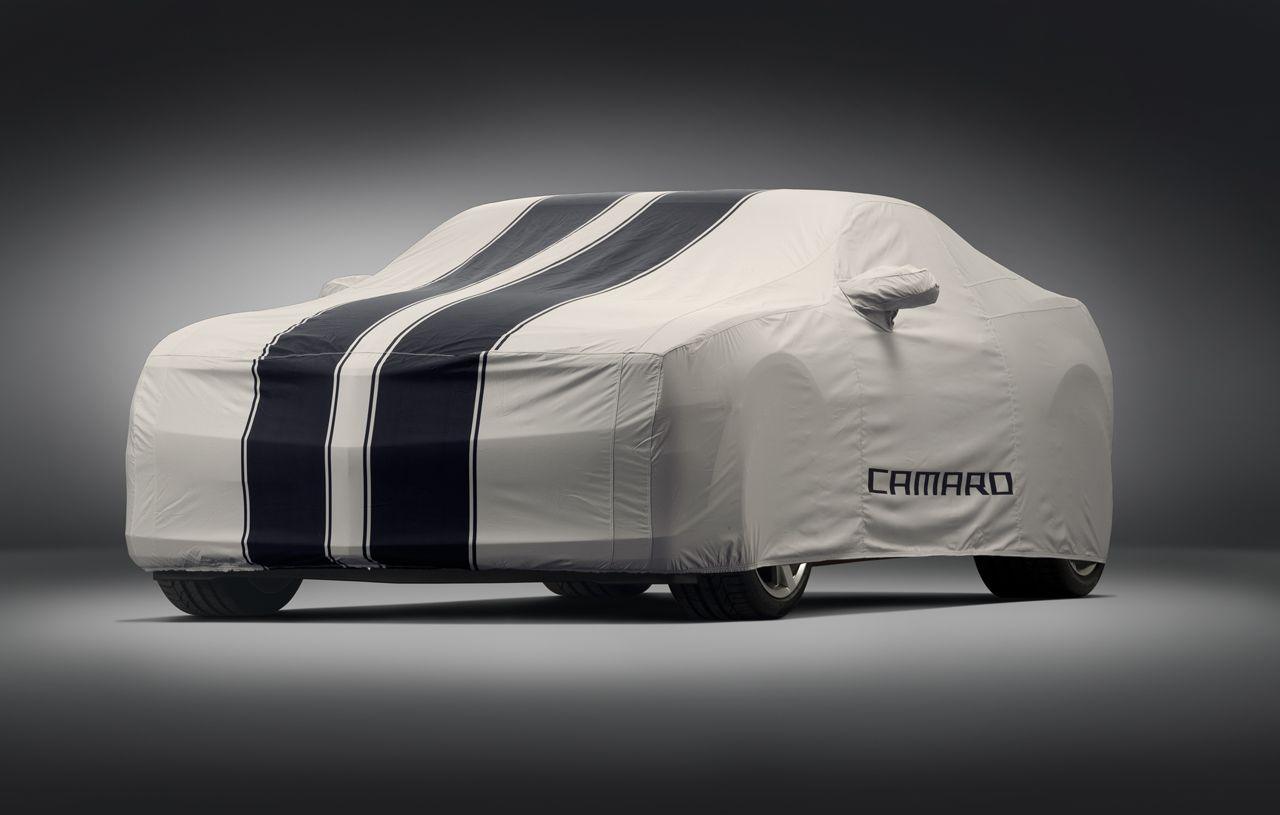 2010 Camaro Oem Car Cover Grey Black Stripes 92215994 Camaro5