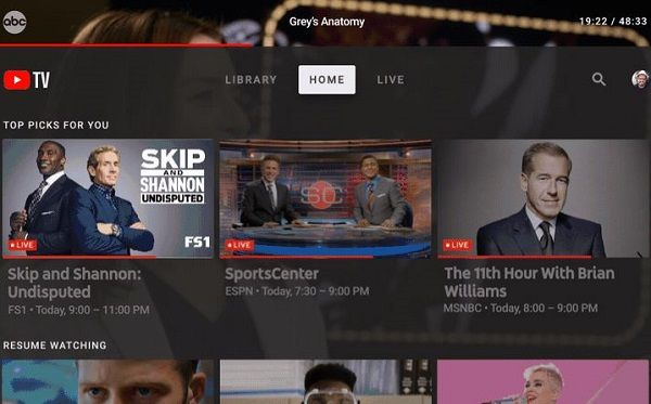 Google announces YouTube TV app for Android TV, Apple TV