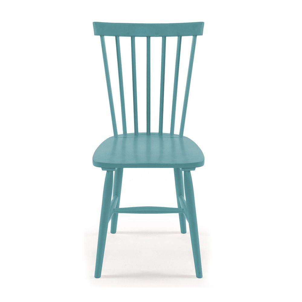 wood h17 stuhl mit st bchenlehne t rkis department. Black Bedroom Furniture Sets. Home Design Ideas