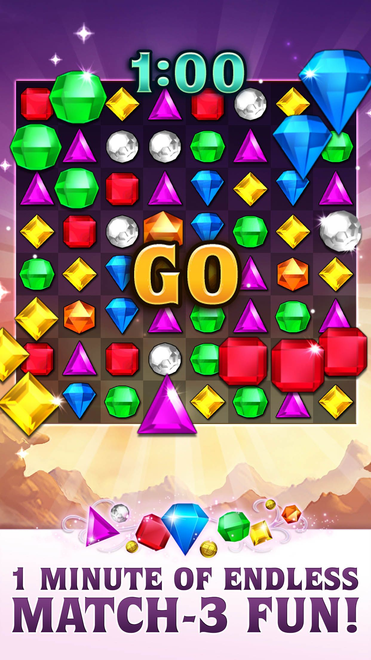 Bejeweled Blitz iOS Store Store 的热门 App App Annie