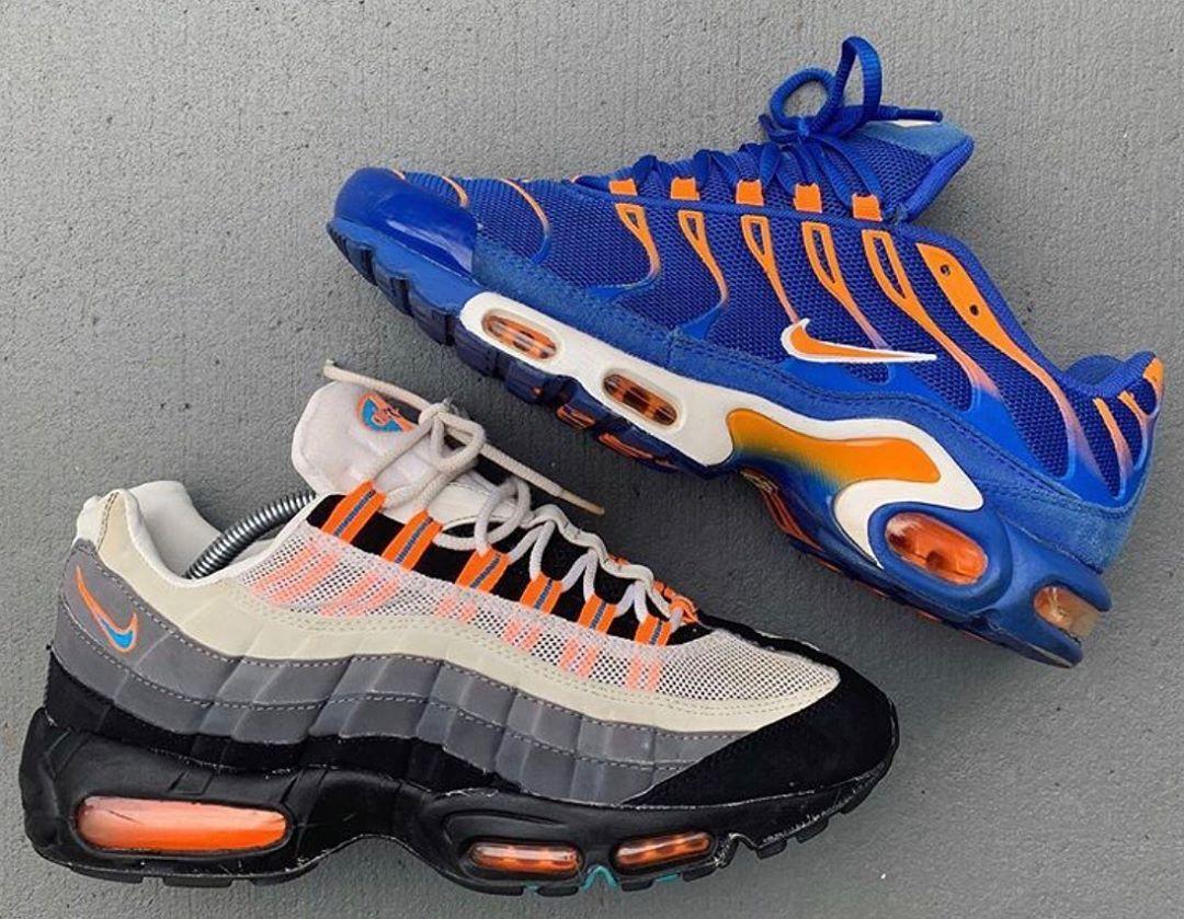 """Nike Air Max 95 """"Knicks"""" '1⃣5⃣ Nike Air Max Plus TN ..."""