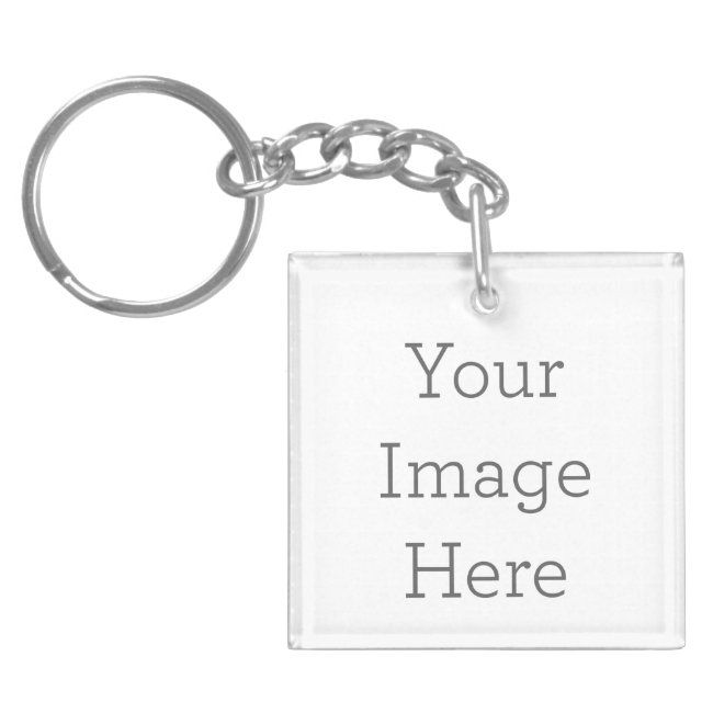 A3-Your Own Personal  Custom Photo Key Chain
