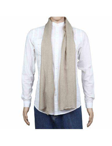 Echarpe indienne 100% Cachemire pur Pashmina pour hommes 30 x 152 cm: Amazon.fr: Vêtements et accessoires