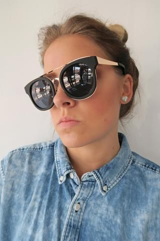 71a986382f049 Quay Brooklyn Sunglasses BLACK SMOKE